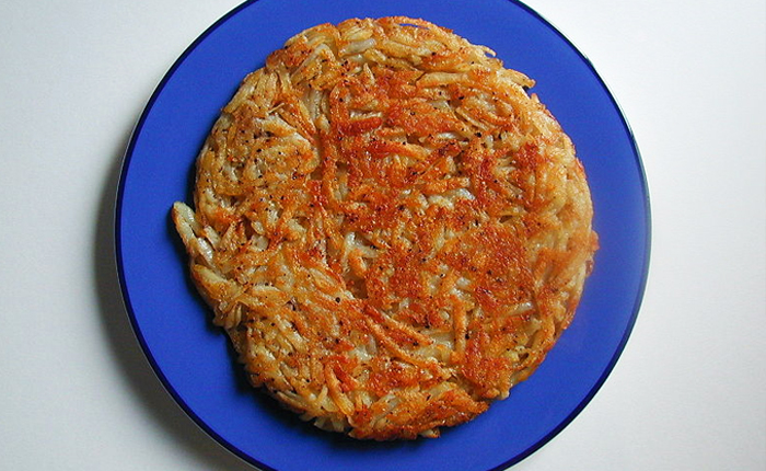 Switzerland foods Rösti: Crisp on the outside and soft and melting inside