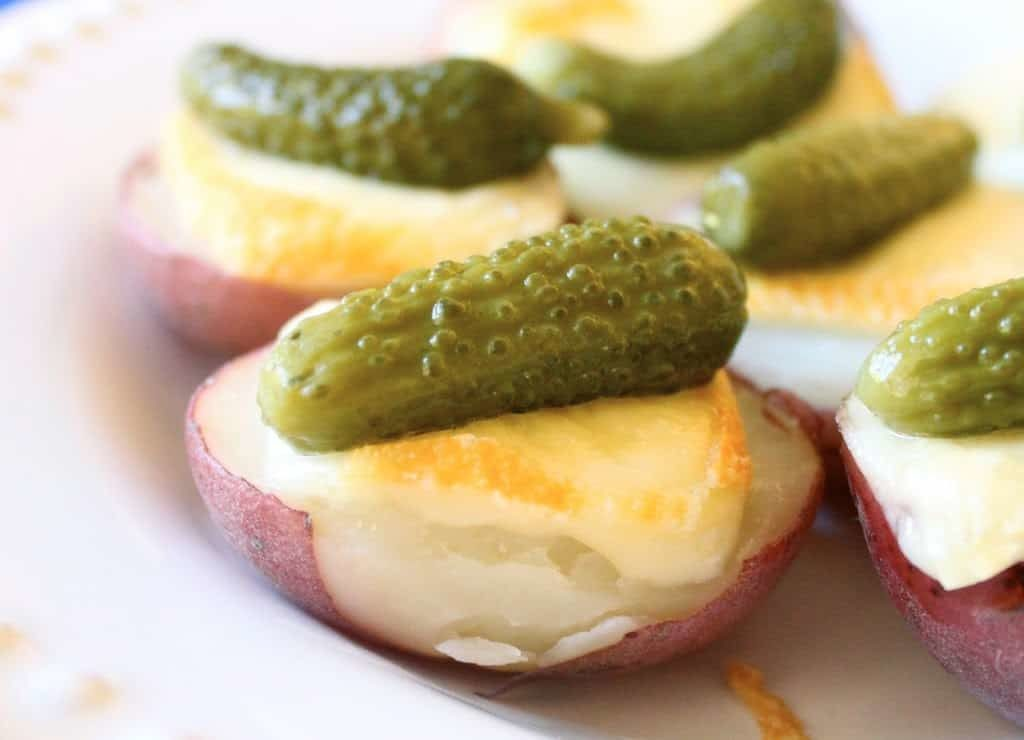 Raclette switzerland Foods: Raclette with potatoes, cornichons and pickled onions