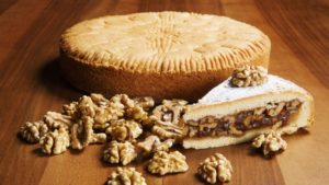 Drool-worthy Swiss FoodGraubünden Nut Pie | Fusion of cream and nuts