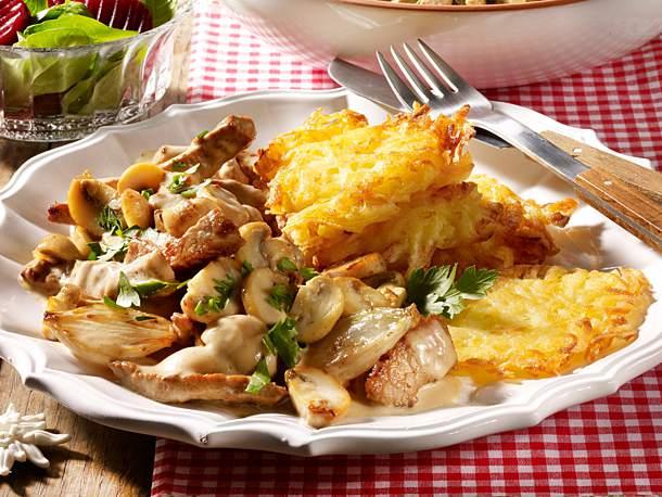 Zürcher Geschnetzeltes Swiss Food Goes Great with Rosti, Noodles or Rice