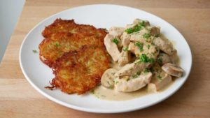Switzerland Foods Zurchergeschnetzletes : Delicious and Mouthful