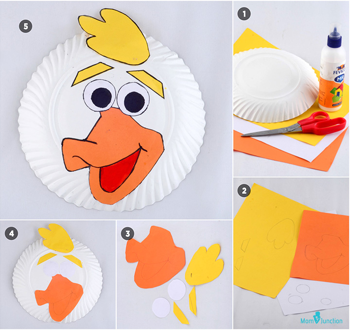 Creative Paper Plate Animals – Make Paper Plate Duck