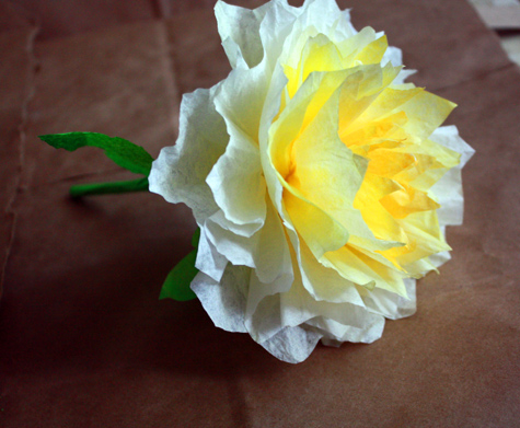 Admirable Coffee filter flowers