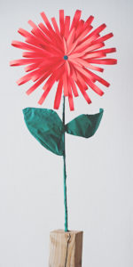 Bright Beautiful and Bold Large Paper Flower Crafts for Table Decor and Party
