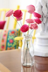 DIY Spray Flower Paper flower crafts Economic and Easy to Do