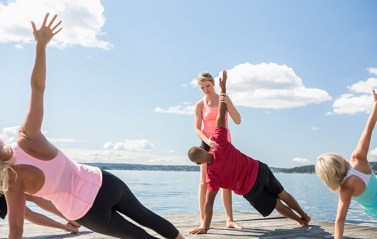 Yoga poses and stretches for runners learn from instructors