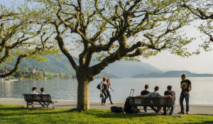 Walk along the lake promenade – Zug Tourismus