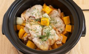 Serving 3rd Gen – Easy Crockpot Chicken & Brown Rice Stew