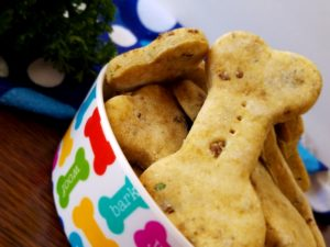 DIY Nutrient-Rich Chicken and Liver Dog Cookies -Loaded with protein, B vitamins, iron, and omeg ...