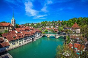 The old town has preserved much of its medieval character – UNESCO World Heritage Site  ...