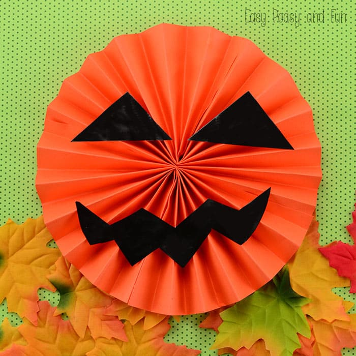 Craft Easy Paper Jack O'Lantern with A4sheets and Cardstock