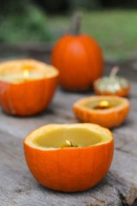 Bring the Smell of Halloween – Make Cute and Adorable Cinnamon Pumpkin Candles