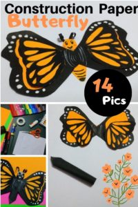 DIY Paper Butterfly: Construction Paper Butterfly Crafts (14 Steps)