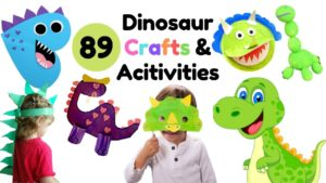 89 Creative & Engaging Dinosaur Craft Ideas and Activities for Kids