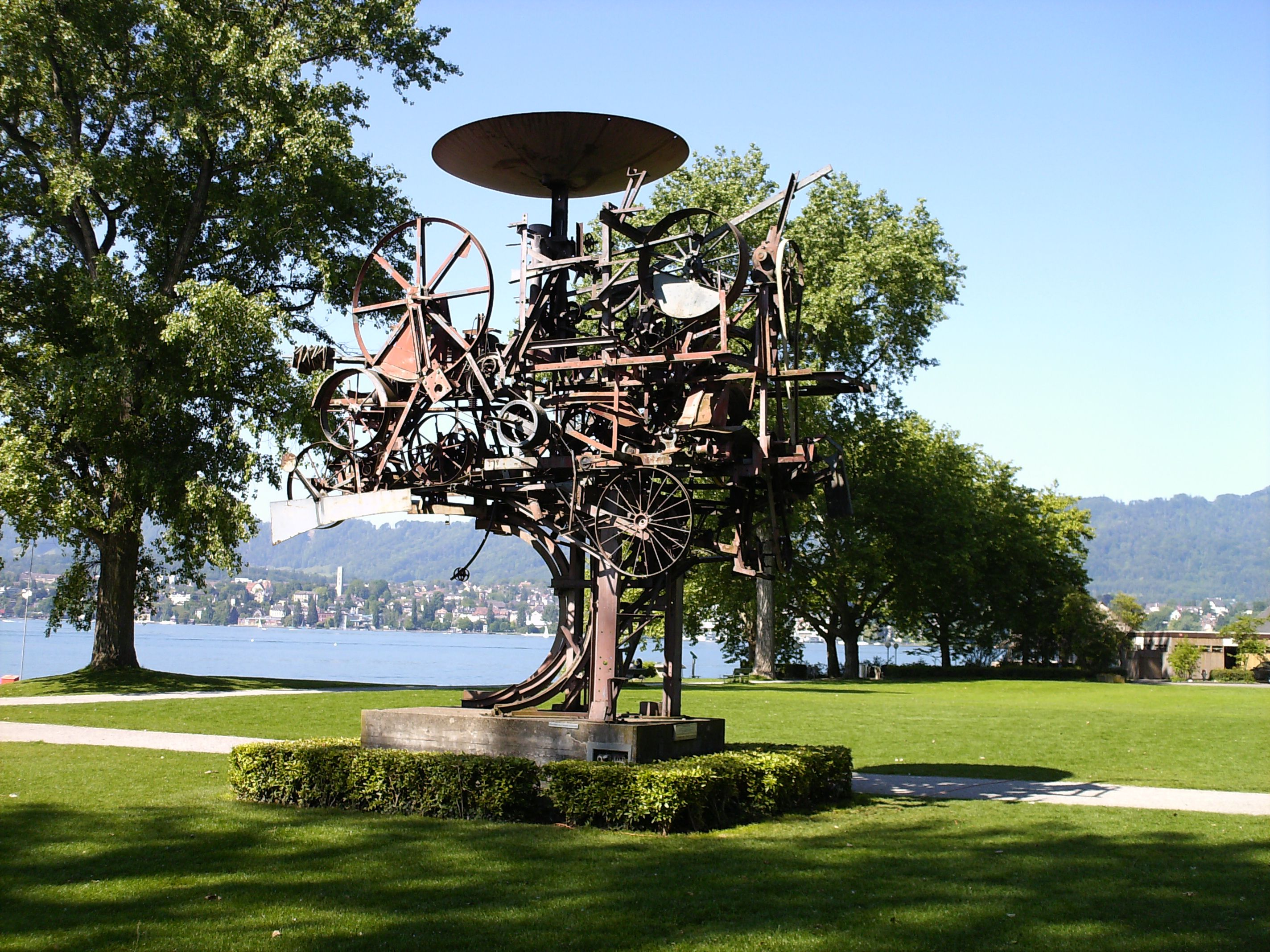 Zurichhorn Water Front Park Zurich Switzerland Places To
